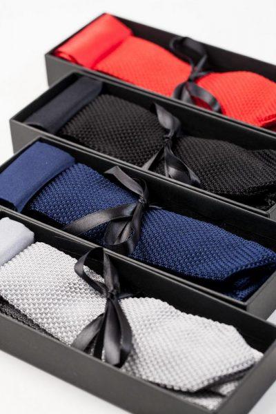 Krawatten-Set mit dynamischem Look