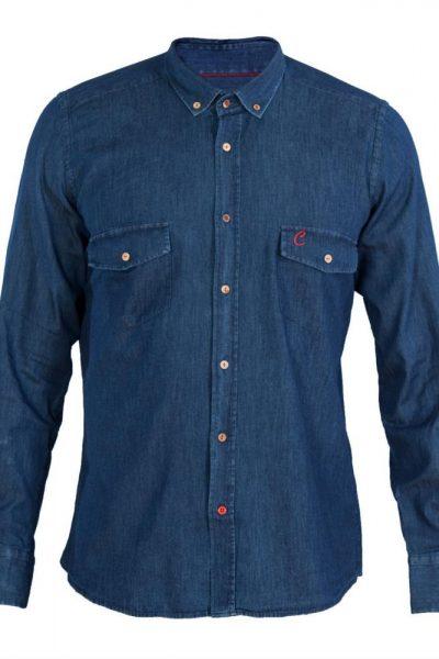 Cooles Jeanshemd für den modischen Mann